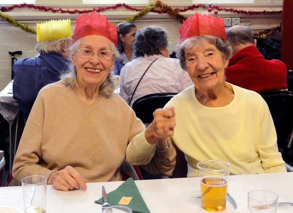 Christmas Day event for older and disabled people who would otherwise spend Christmas on their own