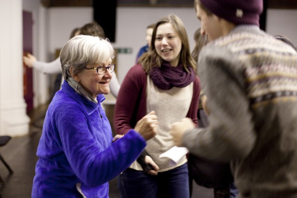 An inter-generational theatre project at Jacksons LAne